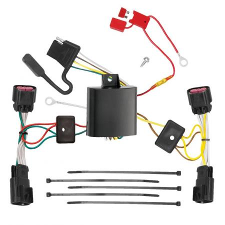 Trailer Wiring Harness Kit For 10-11 Chevy Camaro All Styles