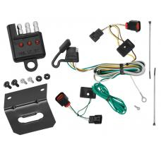 Trailer Wiring and Bracket and Light Tester For 09-12 VW Volkswagen Routan All Styles 4-Flat Harness Plug Play
