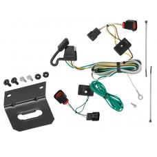 Trailer Wiring and Bracket For 09-12 VW Volkswagen Routan All Styles 4-Flat Harness Plug Play