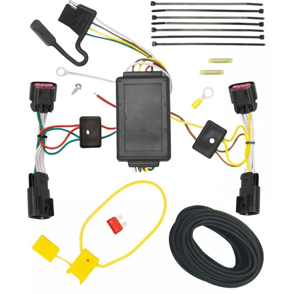 Trailer Wiring Harness Kit For 10-17 Chevy Equinox GMC Terrain All on chevrolet silverado trailer wiring harness, nissan armada trailer wiring harness, jeep grand cherokee trailer wiring harness, ford f-150 trailer wiring harness, dodge durango trailer wiring harness, jeep compass trailer wiring harness, subaru outback trailer wiring harness, toyota sienna trailer wiring harness, porsche cayenne trailer wiring harness, nissan rogue trailer wiring harness, ford fusion trailer wiring harness, honda ridgeline trailer wiring harness, toyota rav4 trailer wiring harness,