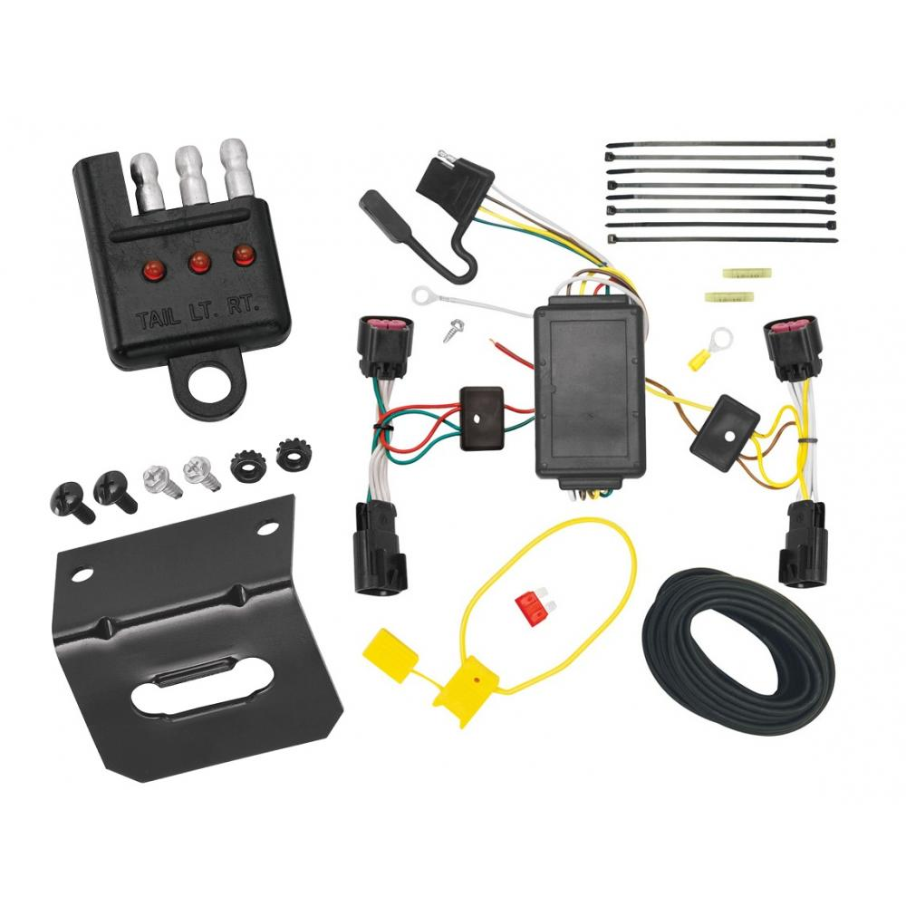 Trailer Wiring and cket and Light Tester For 10-17 Chevy Equinox GMC on 2011 dodge durango trailer wiring, 2011 ford expedition trailer wiring, 2012 honda pilot trailer wiring, 2011 jeep patriot trailer wiring, 2011 kia sportage trailer wiring,