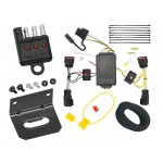 Trailer Wiring and Bracket and Light Tester For 10-17 Chevy Equinox GMC Terrain All Styles 4-Flat Harness Plug Play