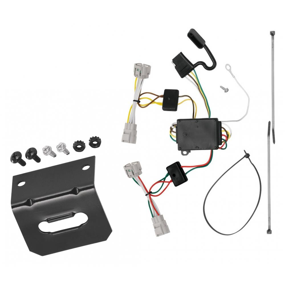 [SCHEMATICS_4NL]  Trailer Wiring and Bracket For 09-15 Toyota Tacoma 93-98 T100 08-12 Hilux  4-Flat Harness Plug Play | 2009 Toyota Tacoma Trailer Wiring |  | TrailerJacks.com
