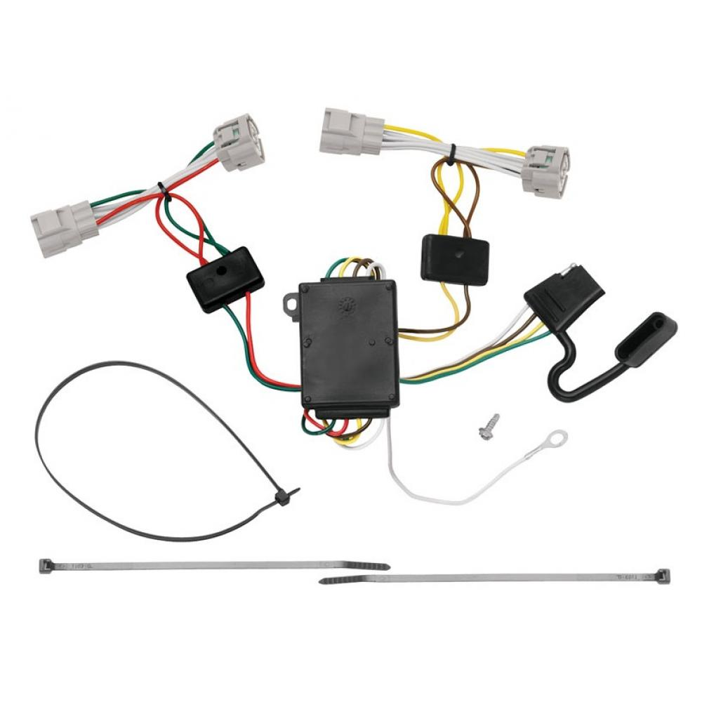 Trailer Wiring Harness Kit For 09-15 Toyota Tacoma 93-98 T100 08-12 on toyota trailer wiring kit, toyota trailer harness module, toyota wire harness connectors, toyota instrument cluster, toyota truck wire connectors, toyota roof rack, toyota trailer connector, toyota 7 pin trailer wiring, toyota truck trailer wiring, toyota alternator wiring, toyota rav4 temp gauge wiring, toyota trailer brake controller, toyota trailer mirrors, toyota trailer hitch, toyota trailer wiring bracket, toyota wiring diagrams, toyota floor mats,