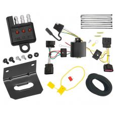 Trailer Wiring and Bracket and Light Tester For 10-16 Buick LaCrosse All Styles 4-Flat Harness Plug Play