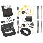 Trailer Wiring and Bracket and Light Tester For 10-19 Hyundai Tucson All Styles 4-Flat Harness Plug Play