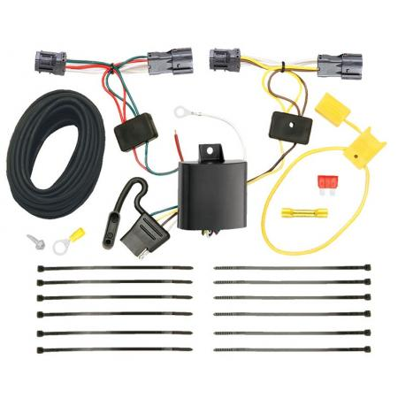 Trailer Wiring Harness Kit For 10-18 Hyundai Tucson All Styles