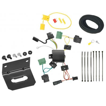 Trailer Wiring and Bracket For 06-11 Mercury Milan 07-09 Lincoln MKZ 2006 Zephyr 4-Flat Harness Plug Play