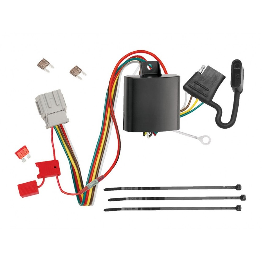 Trailer Wiring Harness Kit For 10-13 Acura ZDX All Styles