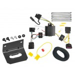 Trailer Wiring and Bracket For 11-13 Buick Regal All Styles 4-Flat Harness Plug Play