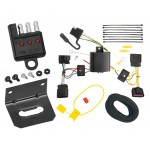 Trailer Wiring and Bracket and Light Tester For 11-13 Buick Regal All Styles 4-Flat Harness Plug Play