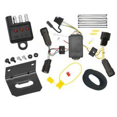 Trailer Wiring and Bracket and Light Tester For 10-17 Lincoln MKT All Styles 4-Flat Harness Plug Play