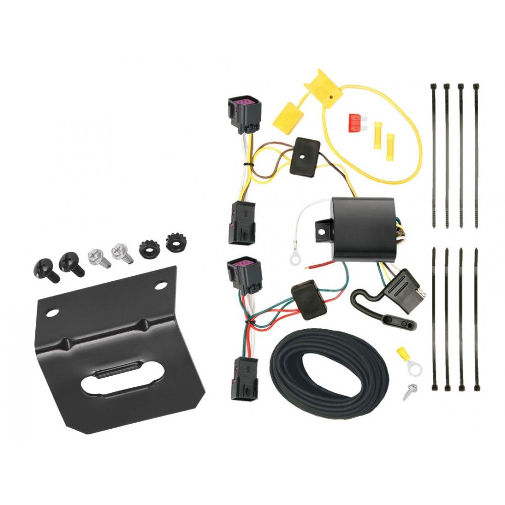 trailer wiring and bracket for 11-15 chevy cruze all styles (2016 limited  old body style)