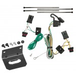 Trailer Wiring and Bracket For 00-05 Chevrolet Impala All Styles 4-Flat Harness Plug Play