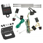 Trailer Wiring and Bracket and Light Tester For 00-05 Chevrolet Impala All Styles 4-Flat Harness Plug Play