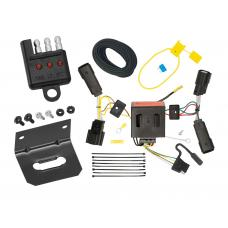 Trailer Wiring and Bracket and Light Tester For 11-14 Ford Edge All Styles 4-Flat Harness Plug Play