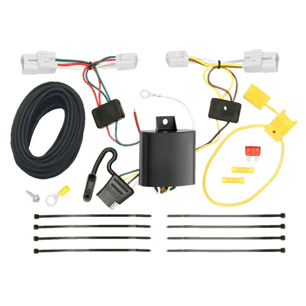 Trailer Wiring And Bracket And Light Tester For 10-12