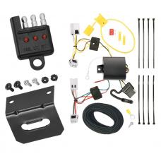 Trailer Wiring and Bracket and Light Tester For 11-17 Nissan JUKE All Styles 4-Flat Harness Plug Play