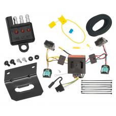 Trailer Wiring and Bracket and Light Tester For 07-10 VW Volkswagen Passat Wagon 4-Flat Harness Plug Play