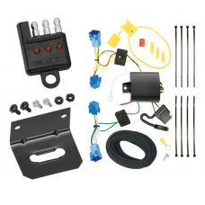 Trailer Wiring and Bracket and Light Tester For 06-11 Cadillac DTS All Styles 4-Flat Harness Plug Play