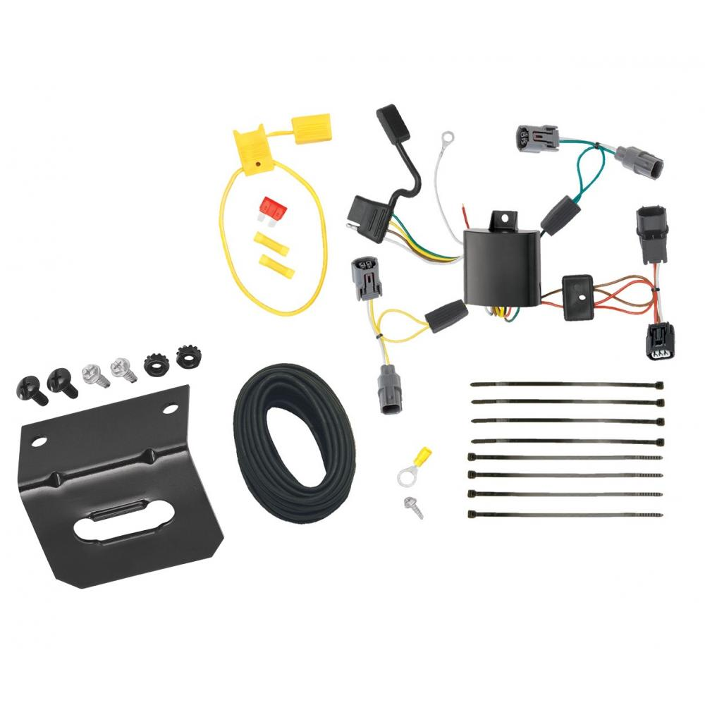 Trailer Wiring And Bracket For 09-14 Acura TL All Styles 4