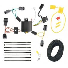 Trailer Wiring Harness Kit For 09-14 Acura TL All Styles