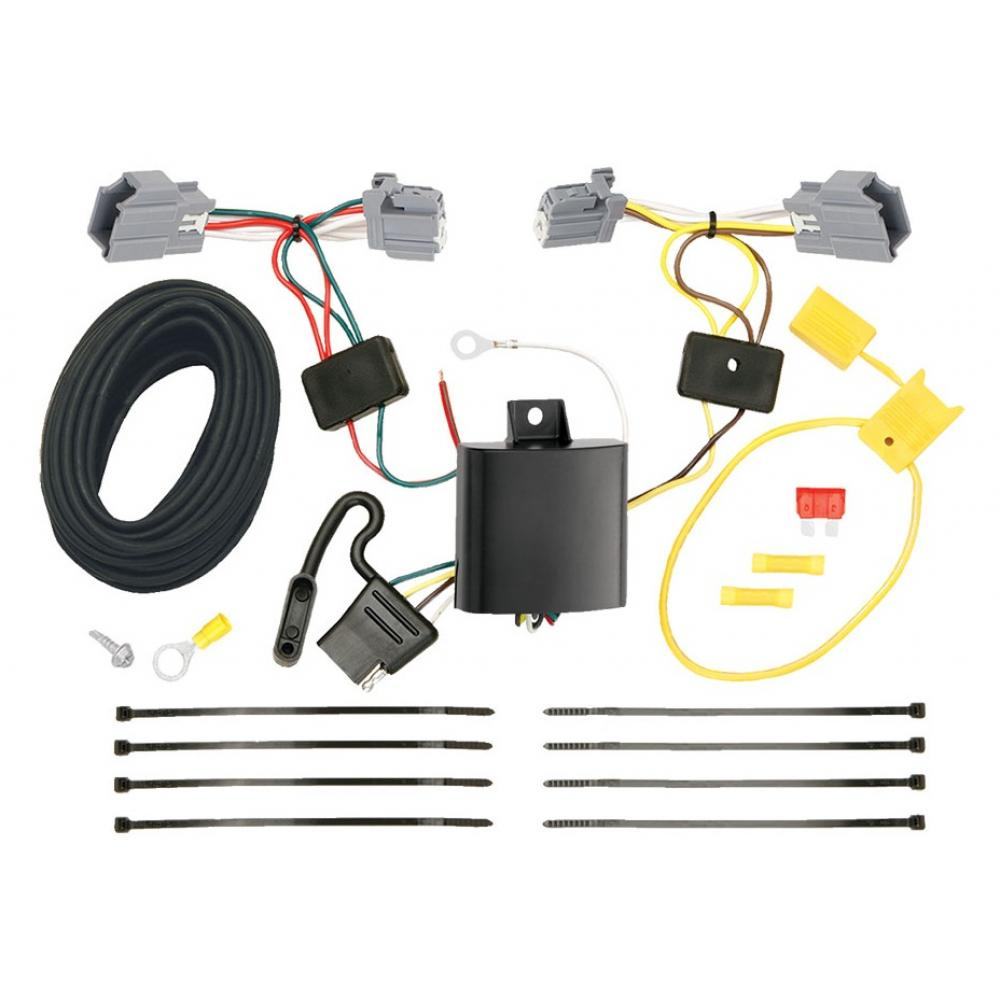 Trailer Wiring Harness Kit For 12-18 Ford Focus SedanTrailerJacks.com