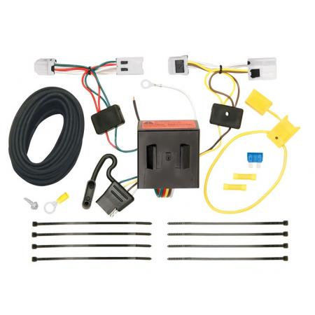 Trailer Wiring Harness Kit For 12-18 Nissan NV1500 NV2500 NV3500 All Styles