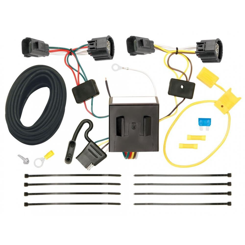 Trailer Wiring Harness Kit For 07-11 Dodge Nitro 08-12 Jeep Liberty All  StylesTrailerJacks.com