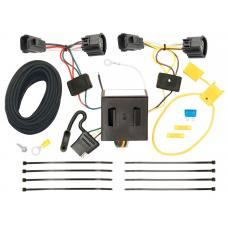 Trailer Wiring Harness Kit For 07-11 Dodge Nitro 08-12 Jeep Liberty All Styles