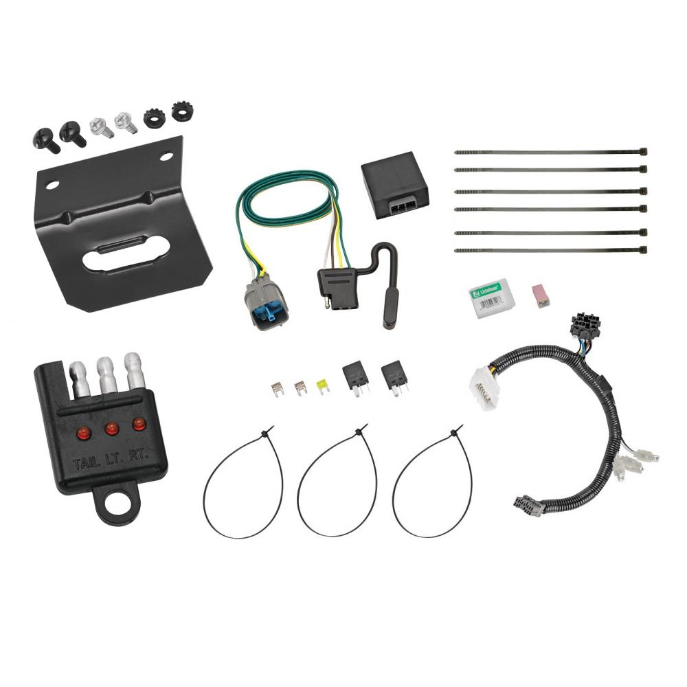 Honda Pilot Trailer Light Wiring