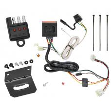 Trailer Wiring and Bracket and Light Tester For 12-16 Honda CR-V All Styles 4-Flat Harness Plug Play