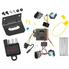 Trailer Wiring and Bracket and Light Tester For 06-10 VW Volkswagen Passat 4 Dr. Sedan 4-Flat Harness Plug Play