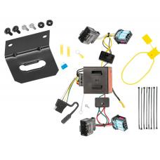 Trailer Wiring and Bracket For 06-10 VW Volkswagen Passat 4 Dr. Sedan 4-Flat Harness Plug Play