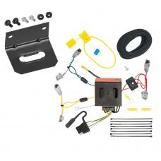 Trailer Wiring and Bracket For 13-16 Mazda CX-5 All Styles 4-Flat Harness Plug Play