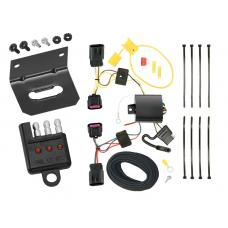 Trailer Wiring and Bracket and Light Tester For 12-17 Buick Verano All Styles 4-Flat Harness Plug Play
