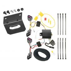 Trailer Wiring and Bracket For 2012 Chevy Orlando --Canada Only-- 4-Flat Harness Plug Play