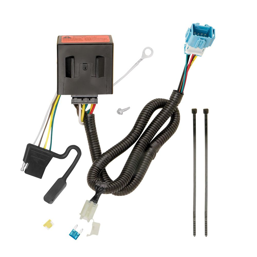 Trailer Wiring Harness Kit For 13-18 Acura RDX All Styles   Acura Rdx Trailer Wiring Harness      TrailerJacks