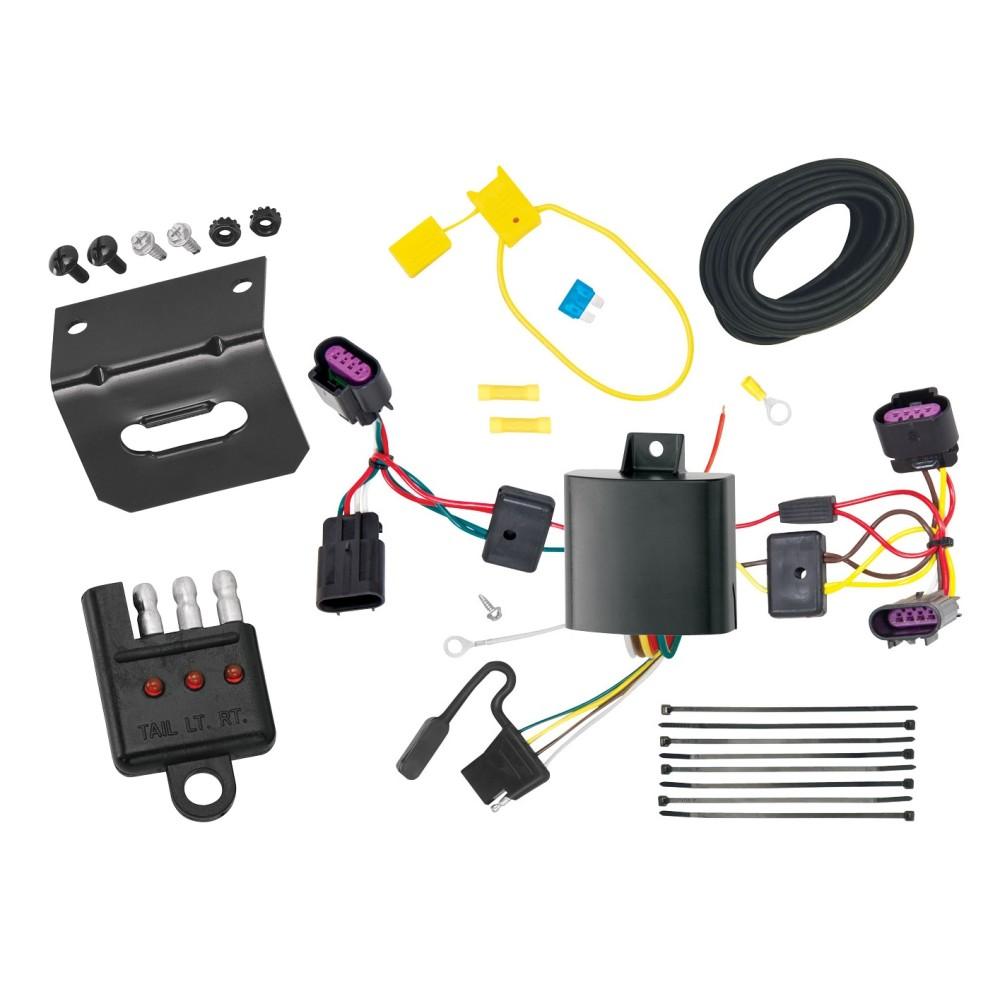 trailer wiring and bracket and light tester for 12 14. Black Bedroom Furniture Sets. Home Design Ideas
