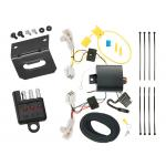 Trailer Wiring and Bracket and Light Tester For 13-18 Toyota Avalon RAV4 All Styles 4-Flat Harness Plug Play