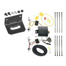 Trailer Wiring and Bracket For 13-19 Nissan Sentra 14-19 Versa Note All Styles 4-Flat Harness Plug Play