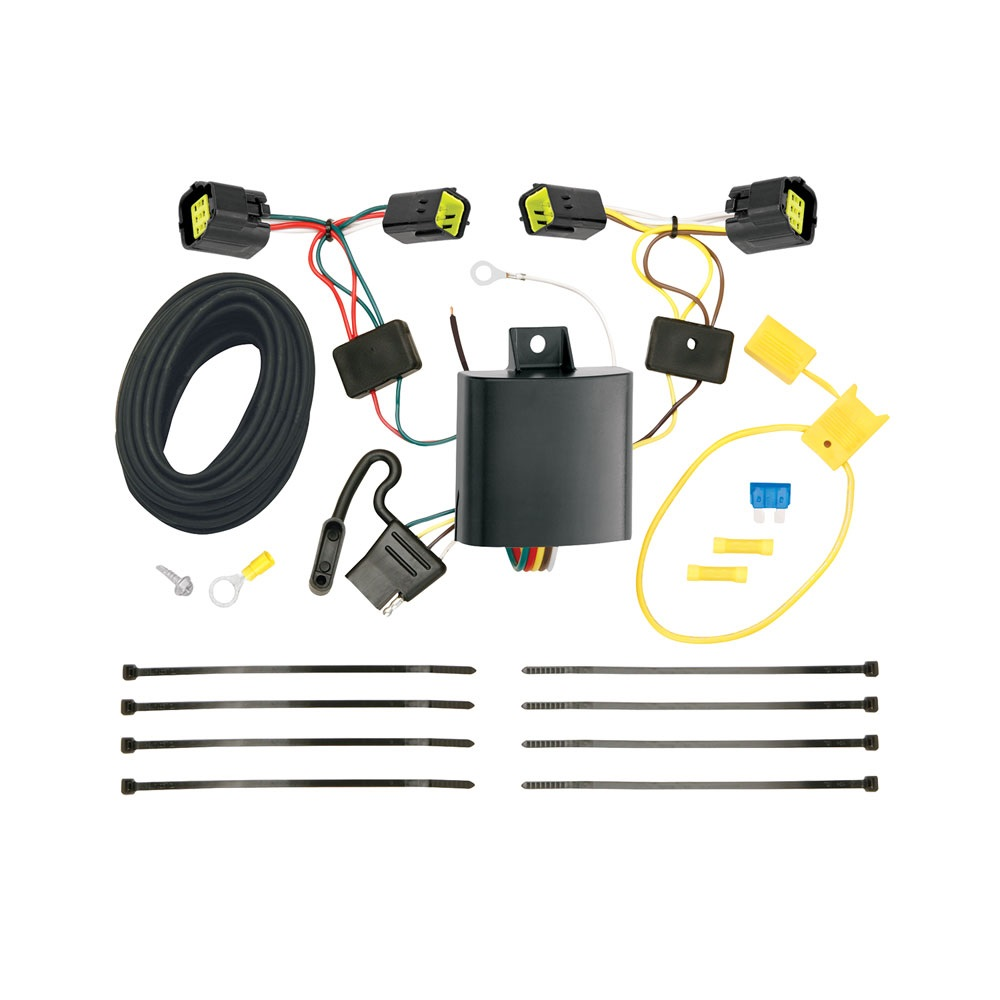Trailer Wiring Harness Kit For 40 40 Ford Transit Connect ...