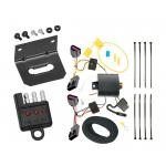 Trailer Wiring and Bracket and Light Tester For 13-16 Buick Encore All Styles 4-Flat Harness Plug Play