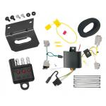 Trailer Wiring and Bracket and Light Tester For 14-20 Chevrolet Impala except Limited 4-Flat Harness Plug Play