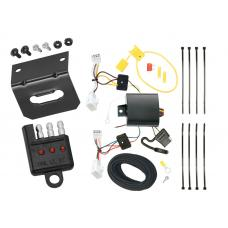 Trailer Wiring and Bracket and Light Tester For 13-18 Lexus ES350 13-16 ES300h 4-Flat Harness Plug Play
