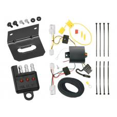 Trailer Wiring and Bracket and Light Tester For 12-17 Hyundai Azera All Styles 4-Flat Harness Plug Play