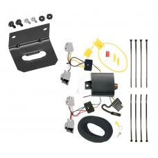 Trailer Wiring and Bracket For 2020 Ford Explorer 10-19 Taurus Sedan 13-16 Lincoln MKS 4-Flat Harness Plug Play