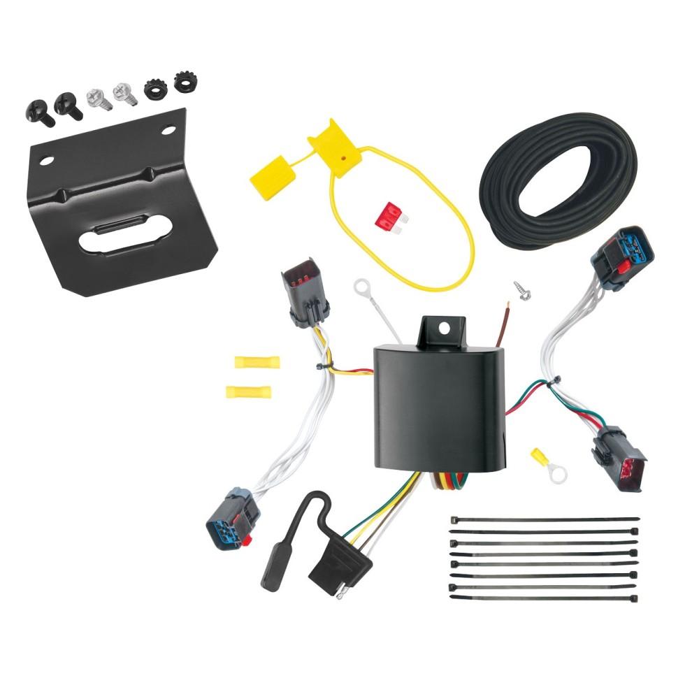 trailer wiring and bracket for 11 14 chrysler 300 300c all. Black Bedroom Furniture Sets. Home Design Ideas