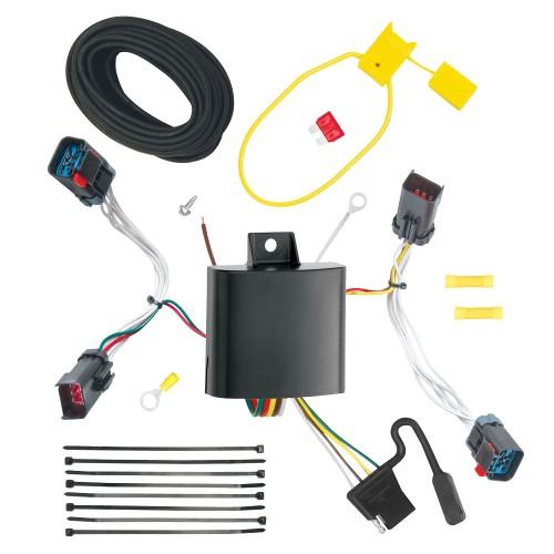 11 14 chrysler 300 and 300c 7 way rv trailer wiring plug