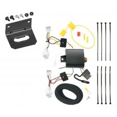 Trailer Wiring and Bracket For 09-13 Lexus IS250 09-14 IS350 All Styles 4-Flat Harness Plug Play